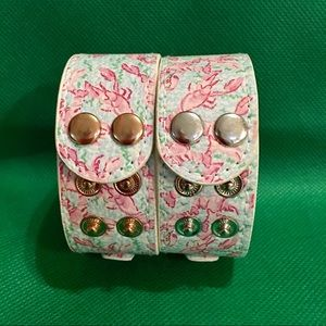 Lilly Pulitzer Snap Bracelets - Prawn